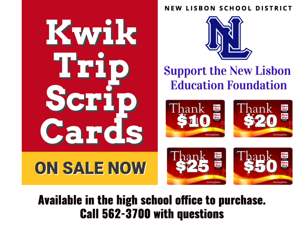 Kwik Trip Cards NOW ON SALE