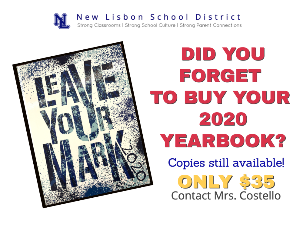 2020 Yearbooks Available