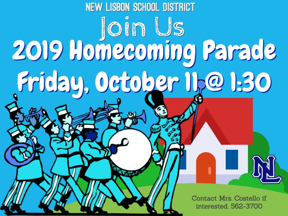 Join Our Homecoming Parade!