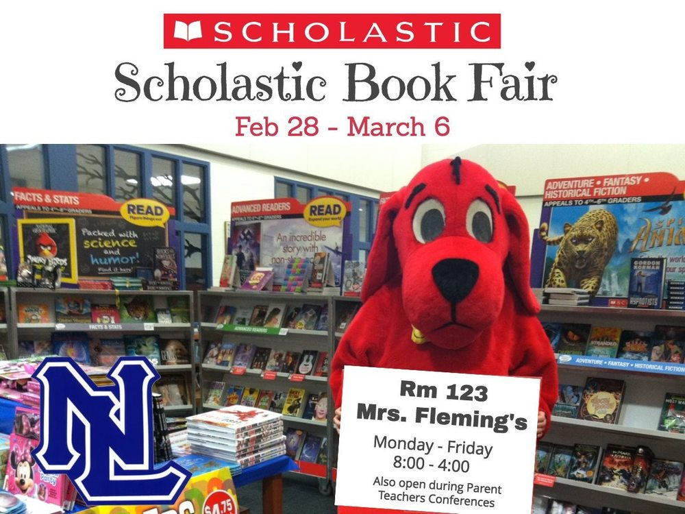 Book Fair through March 6