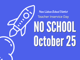 NO SCHOOL OCT 25