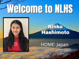 NLHS Welcomes Japanese Teen