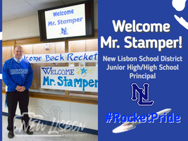 Welcome, Mr. Stamper!