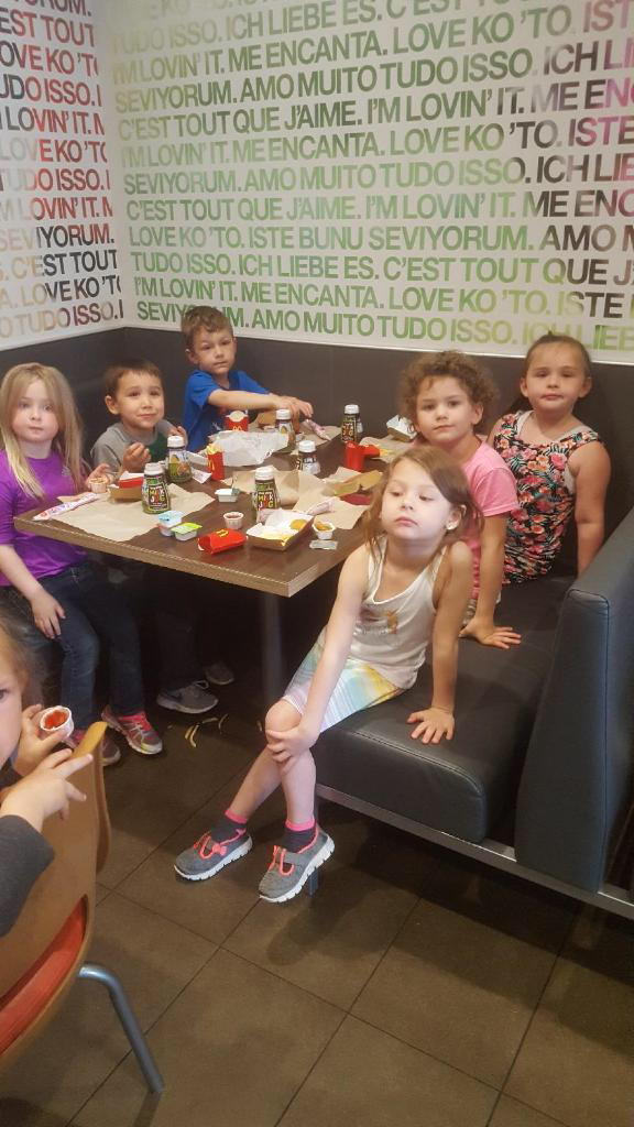 McDonald's class trip for Mrs. Toelle's room.
