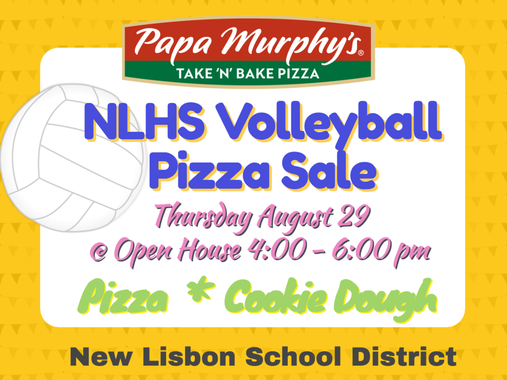 Volleyball Pizza Sale