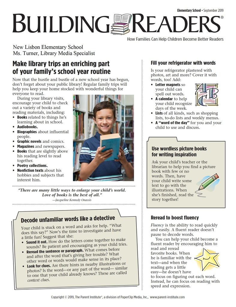 Building Readers - September 2019
