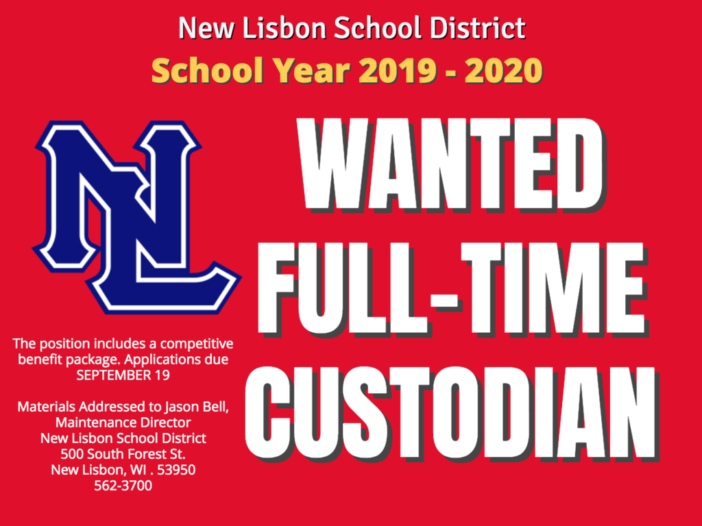 Wanted Custodian