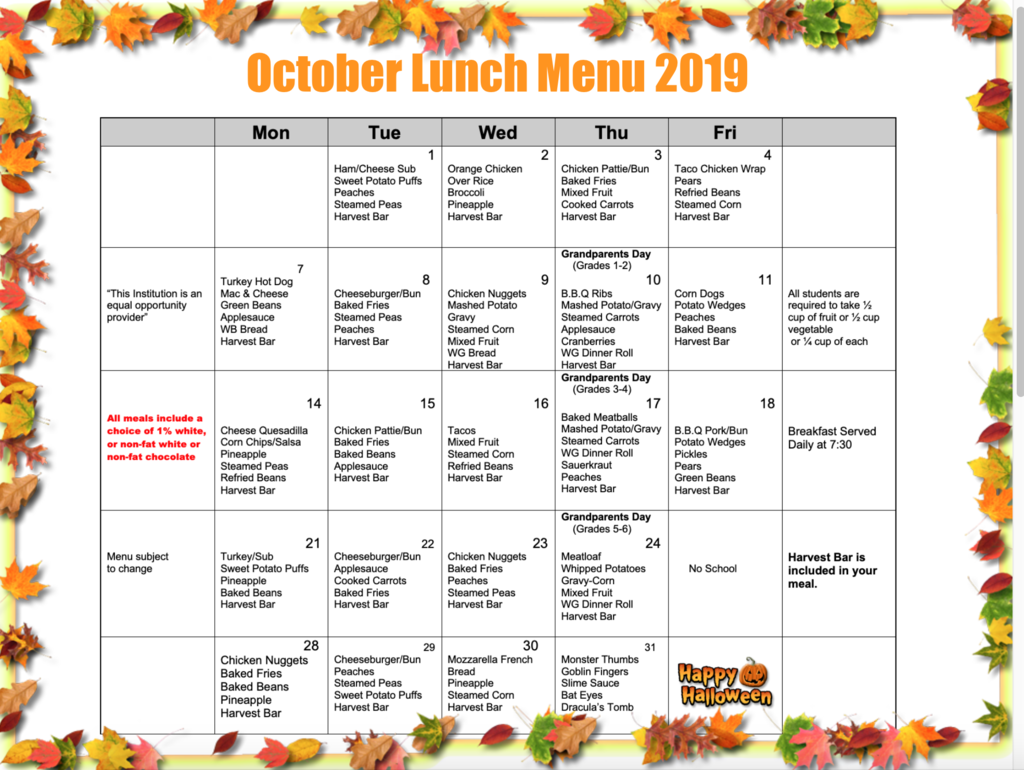 October Lunch